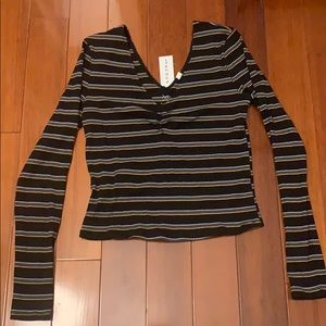NWT Striped long sleeve from Pacsun